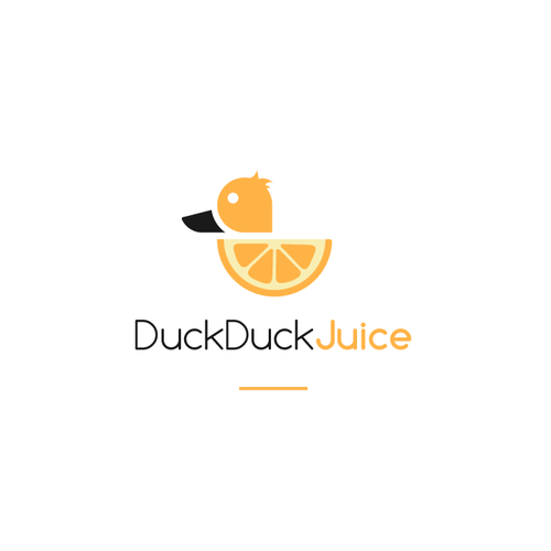 Discover logo with the title 'Duck Duck Juice'