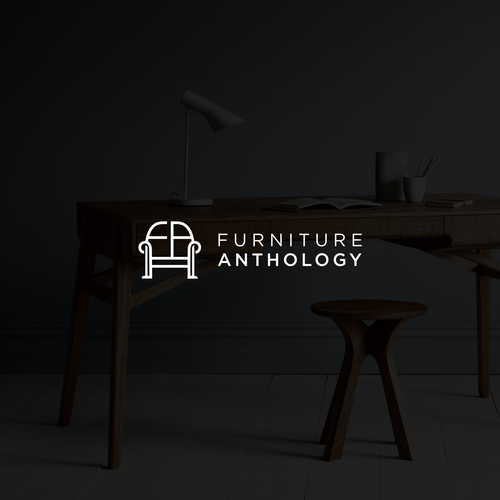 Orange brand with the title 'Furniture Anthology'