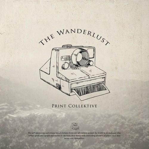 Wanderlust design with the title 'Wanderlust'
