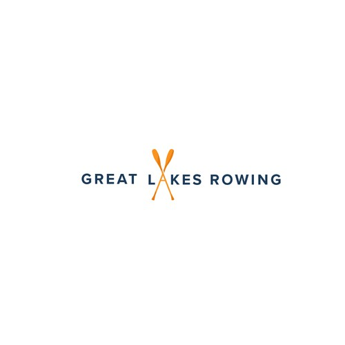 Rowing logo with the title 'Logo for rowing'