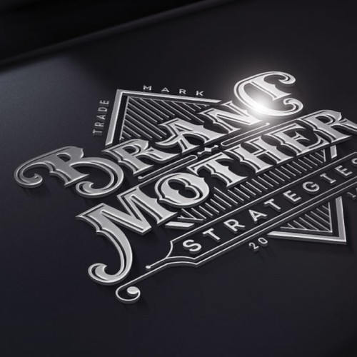 Strategic design with the title 'BRAND MOTHER'