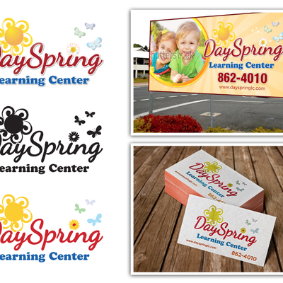 DaySpring Learning Center Billboard Signage