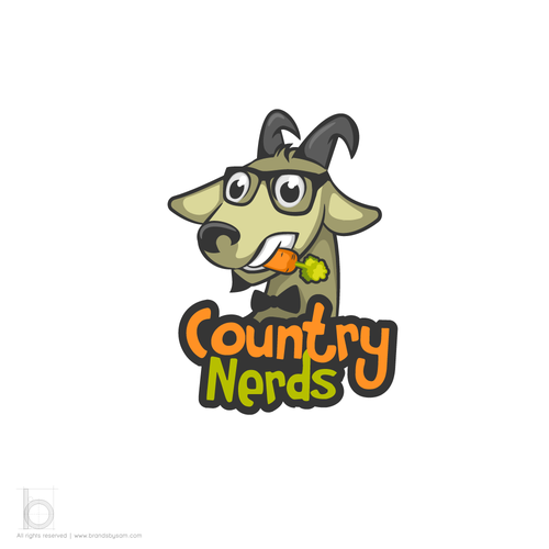 Country design with the title 'Logo Design for Country Nerds'