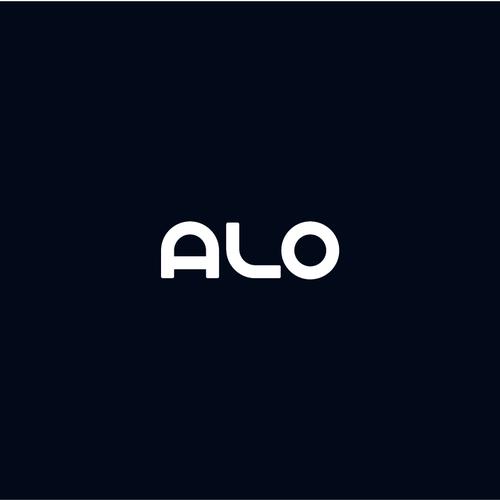 Custom design with the title 'ALO logo'