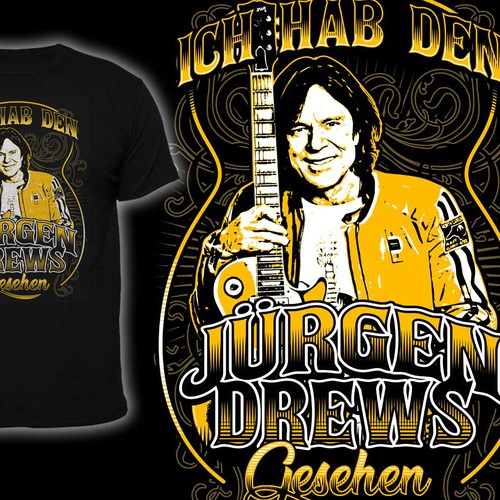 Band t-shirt with the title 'Jürgen Drews'
