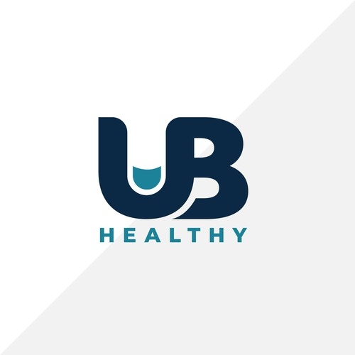 Finger design with the title 'Bold logo for online health service'