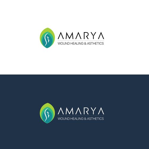 Plastic surgeon logo with the title 'Amarya plastic surgery '