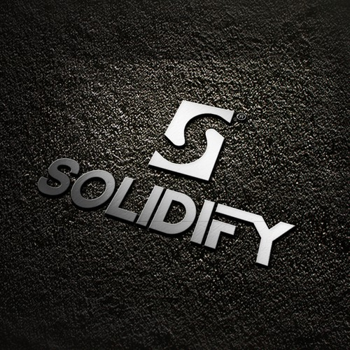 Solid logo with the title 'Solidfy'