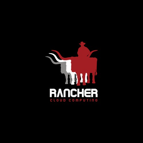 Computing logo with the title 'Creating a logo for Rancher'