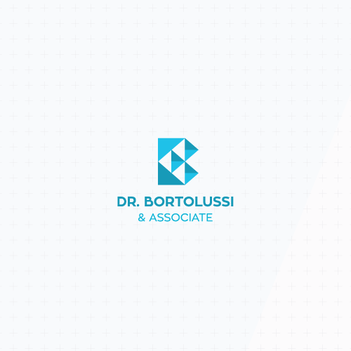 Abstract modern logo with the title 'Geometric abstract monogram'