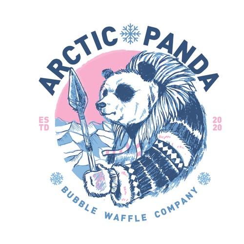 Panda logo with the title 'Arctic Panda'
