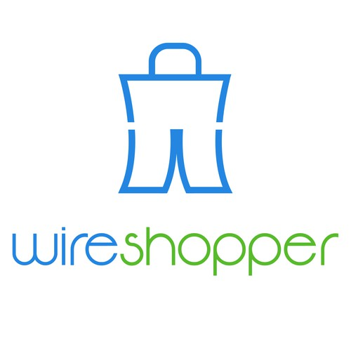 Hardware logo with the title 'Flat Logo for wireshopper'