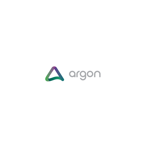 IPhone logo with the title 'Argon Logo Design'