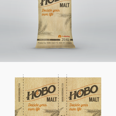 Hobo Malt, bag design