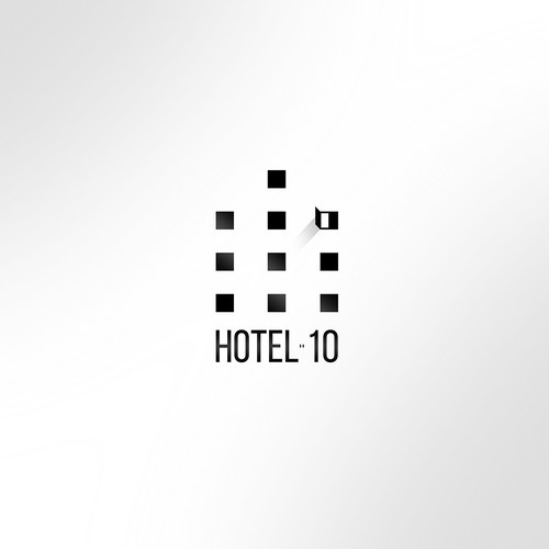 Ten design with the title 'Hotel 10'
