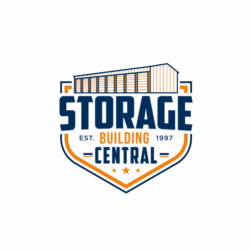 Warehouse logo with the title 'Storage Building Central '