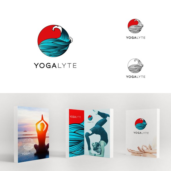 Emoticon design with the title 'Yoga'