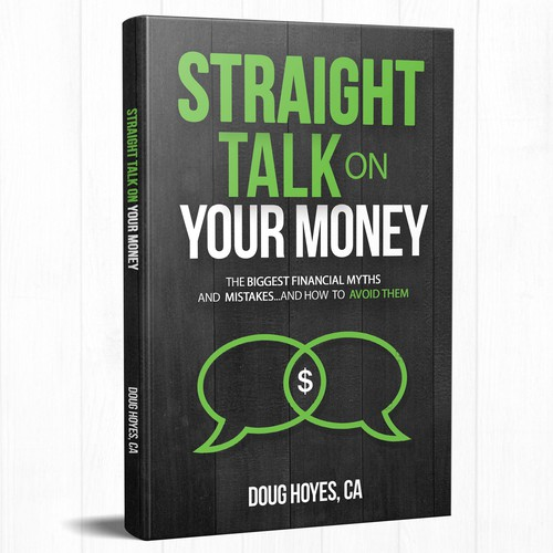 Talking design with the title 'Straight talk on your money '