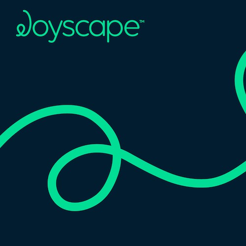 Map logo with the title 'Joyscape'