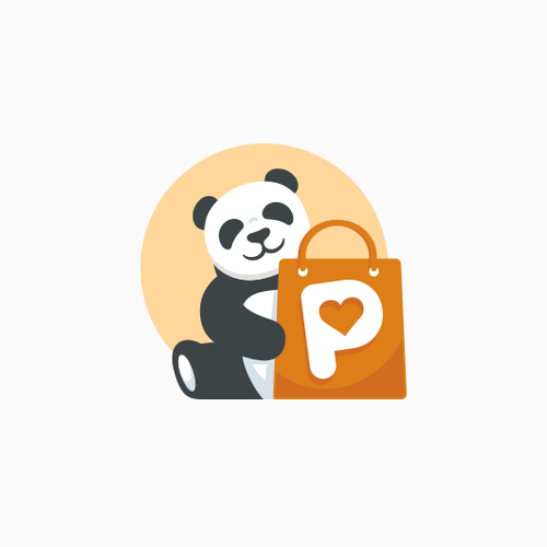 Panda logo with the title 'Logo for PANDEALO'