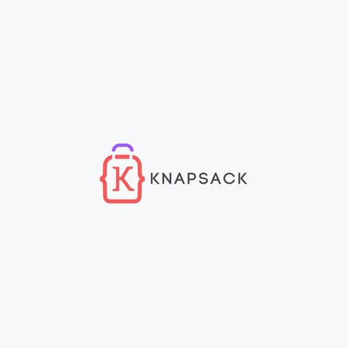 Website logo with the title 'KNAPSACK'