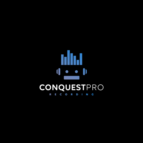 Inkscape design with the title 'Conquest Pro Recording'