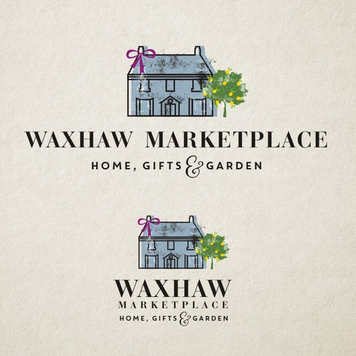 Gift design with the title 'WAXHAW MARKETPLACE'