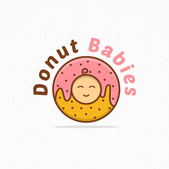 Donut logo with the title 'Donut Babies'