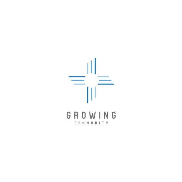 Growing logo with the title 'Logo design for community by native american'