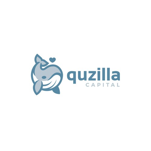 Fishing tackle logo with the title 'Quzilla Capital'