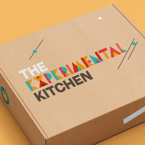 Modern logo with the title 'Experimental Kitchen'