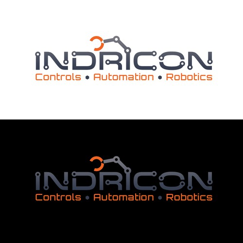 Automation logo with the title 'Logo Design for Indricon Automation'