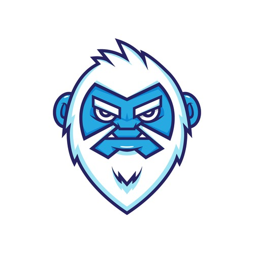 Bigfoot design with the title 'Yeti Head'