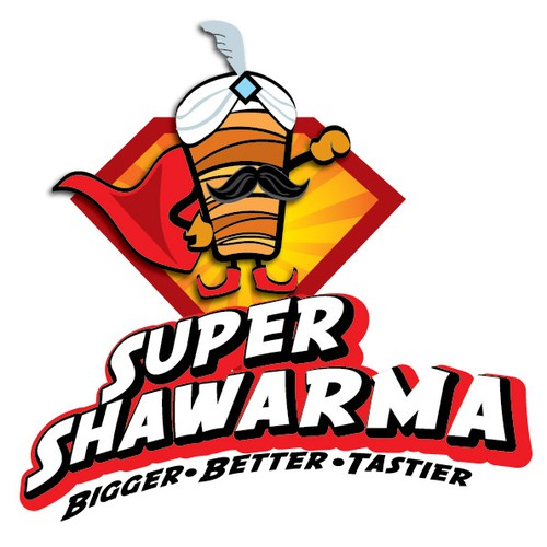 Shawarma logo with the title 'shawarma'