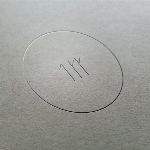 Stamp design with the title 'Clean Logo Concept for The Clean Collective'