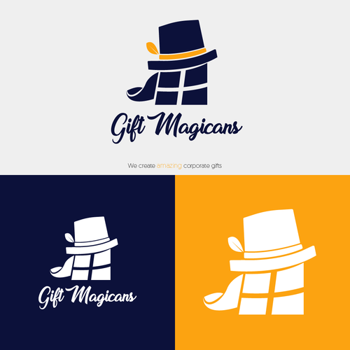 Gift design with the title 'Gift Magicans'