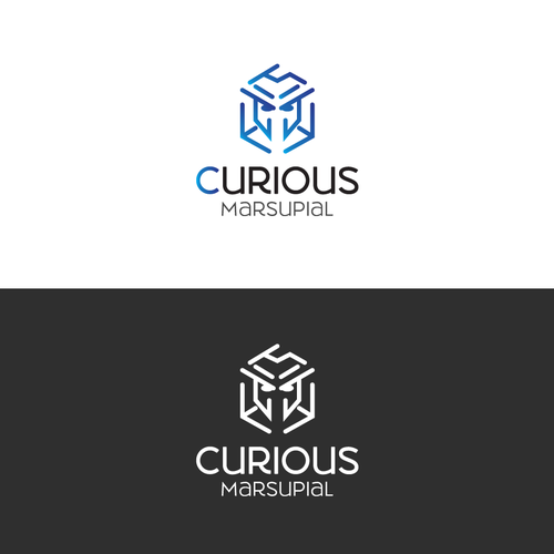 Hardware logo with the title 'Curious Marsupial '