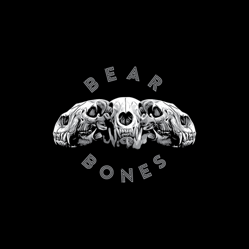 Kickass t-shirt with the title 'Tshirt design for BEAR BONES'