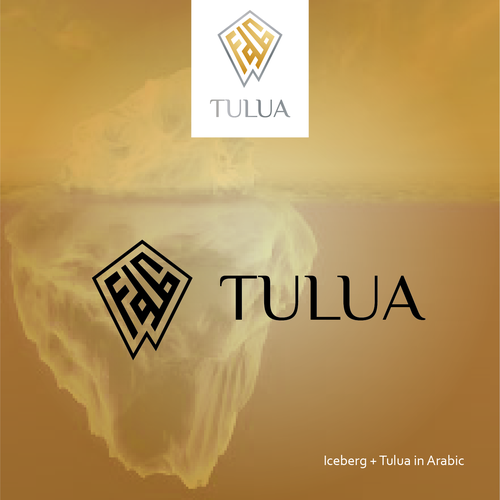 Cryotherapy logo with the title 'Tulua Logo Proposal'