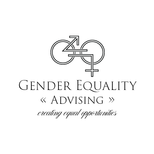 Equality design with the title 'Classic logo for Gender Equality Advising'