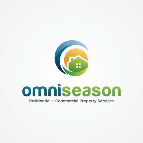Commercial logo with the title 'Minimalistic Logo Concept for OmniSeason'