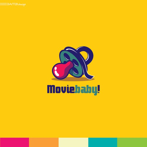 Iconic design with the title 'logo for a major film production company.'