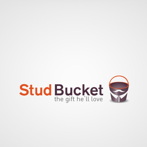 Bucket logo with the title 'Help StudBucket with a new logo'