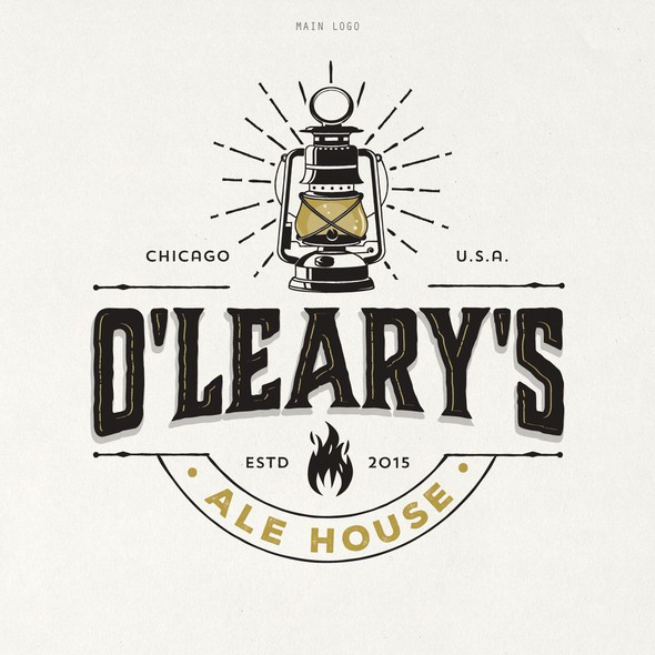 Ale logo with the title 'O'LEARY'S ALE HOUSE'