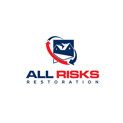 Risk logo with the title 'ALL RISK RESTORATION'