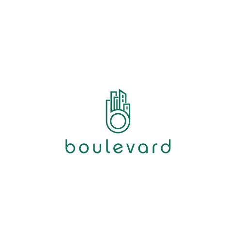 Apartment logo with the title 'Boulevard'