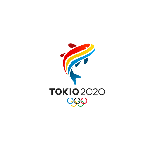 Leap logo with the title 'Dynamic Logo design for Tokio2020'