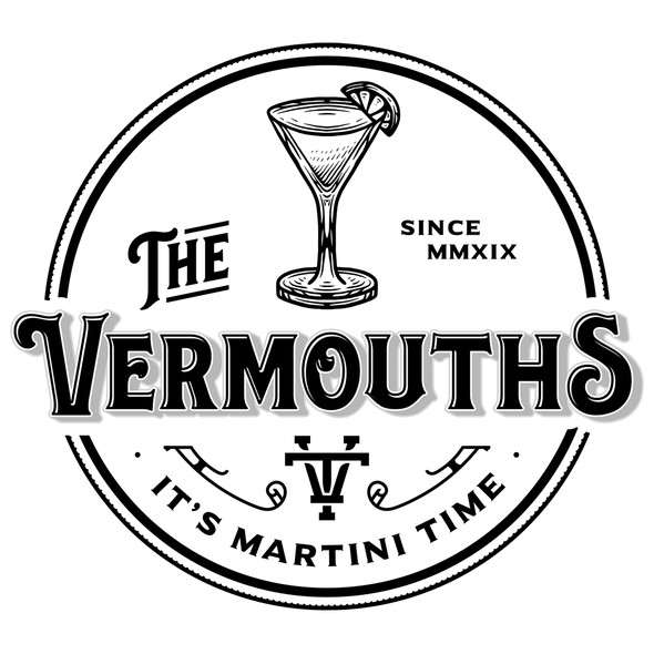 Martini logo with the title 'The Vermouths'