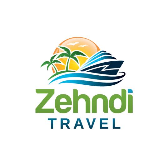 Travel agency logo with the title 'Logo für ein junges, mobiles Schweizer Reisebüro'