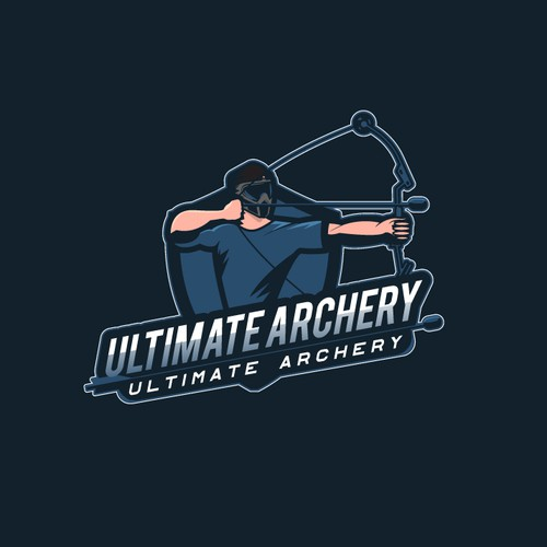 Archery design with the title 'Ultimate Archery'
